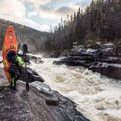 Betsiamites delivers #saruman #quebecconnection #expeditionkayak 📷Dylan Page